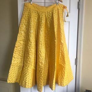 Lehenga embroidered skirt
